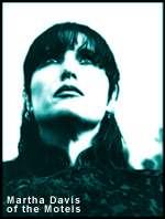 MARTHA DAVIS (1998) PUBLICITY PHOTO FOR THE MOTELS